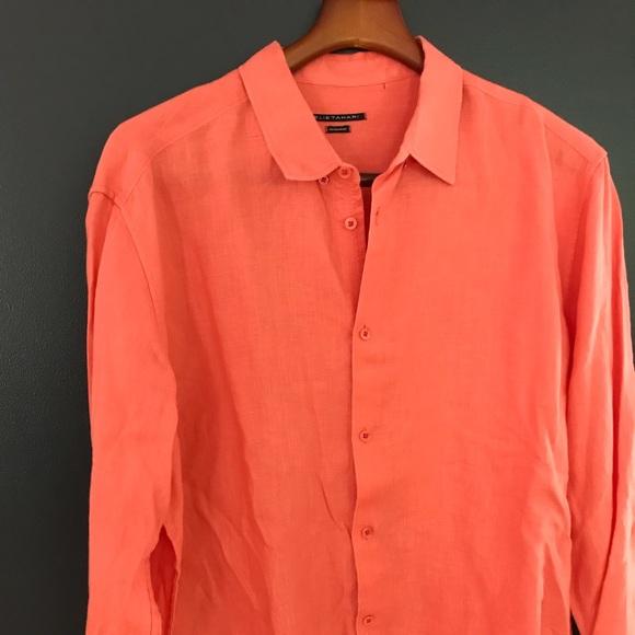 2721eb875d Elie Tahari Other - Elie Tahari Linen Shirt XL Regular Fit